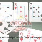 DominoQQ, Berikut Hal Yang Harus Dihindari! - Judi Online Poker Indonesia